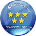 GearDownload 5 stars award